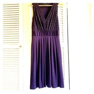 Deep purple Banana Republic Dress Sz4